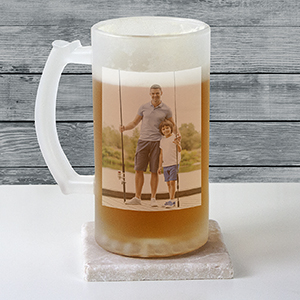 Photo Frosted Glass Stein U1473106