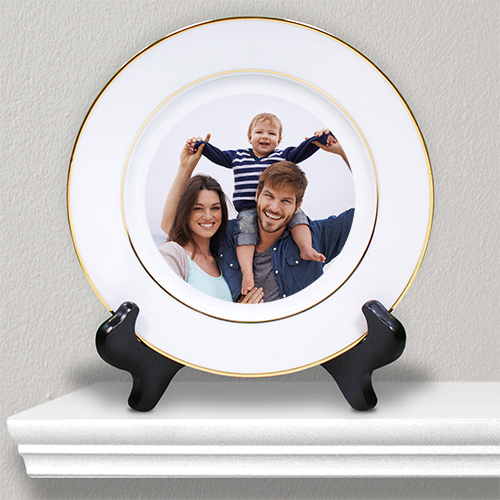 Picture Perfect Photo Ceramic Plate U147312