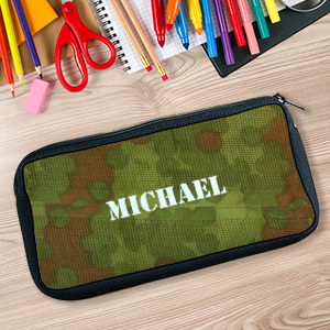 Custom Printed Army Pencil Case U30587