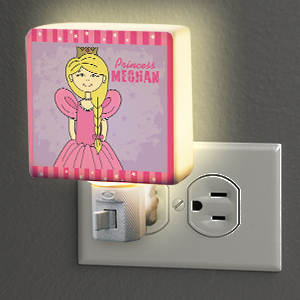 Personalized Princess Night Light U366011