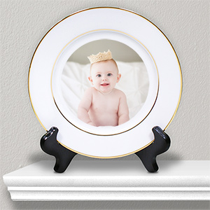Picture Perfect Baby Photo Ceramic Plate U382812