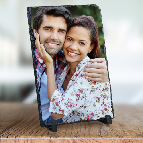 Picture Perfect Love Photo Stone Keepsake | Personalized Couple Gifts
