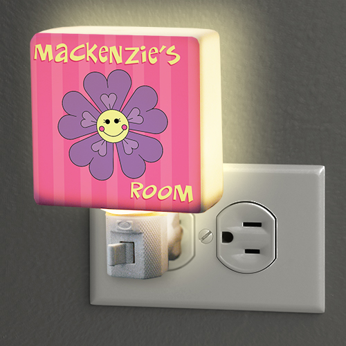 Personalized Flower Night Light | Personalized Baby Gifts