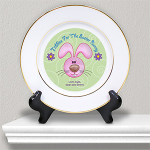 Personalized Ceramic Easter Plate U406612
