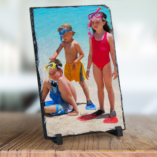 Picture Perfect Vacation Photo Stone Keepsake U432767