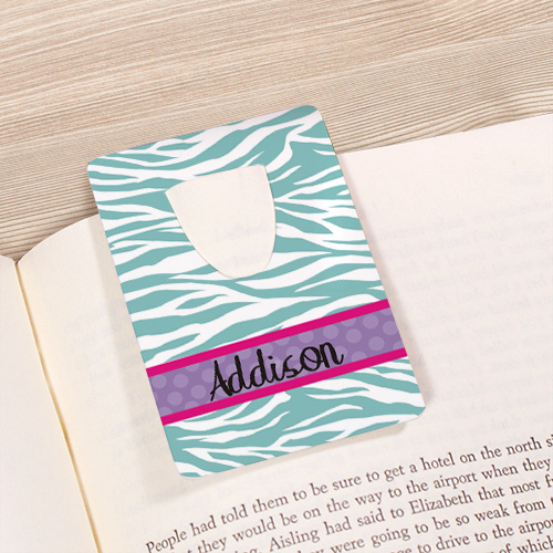 Personalized Bookmark for Her U67465
