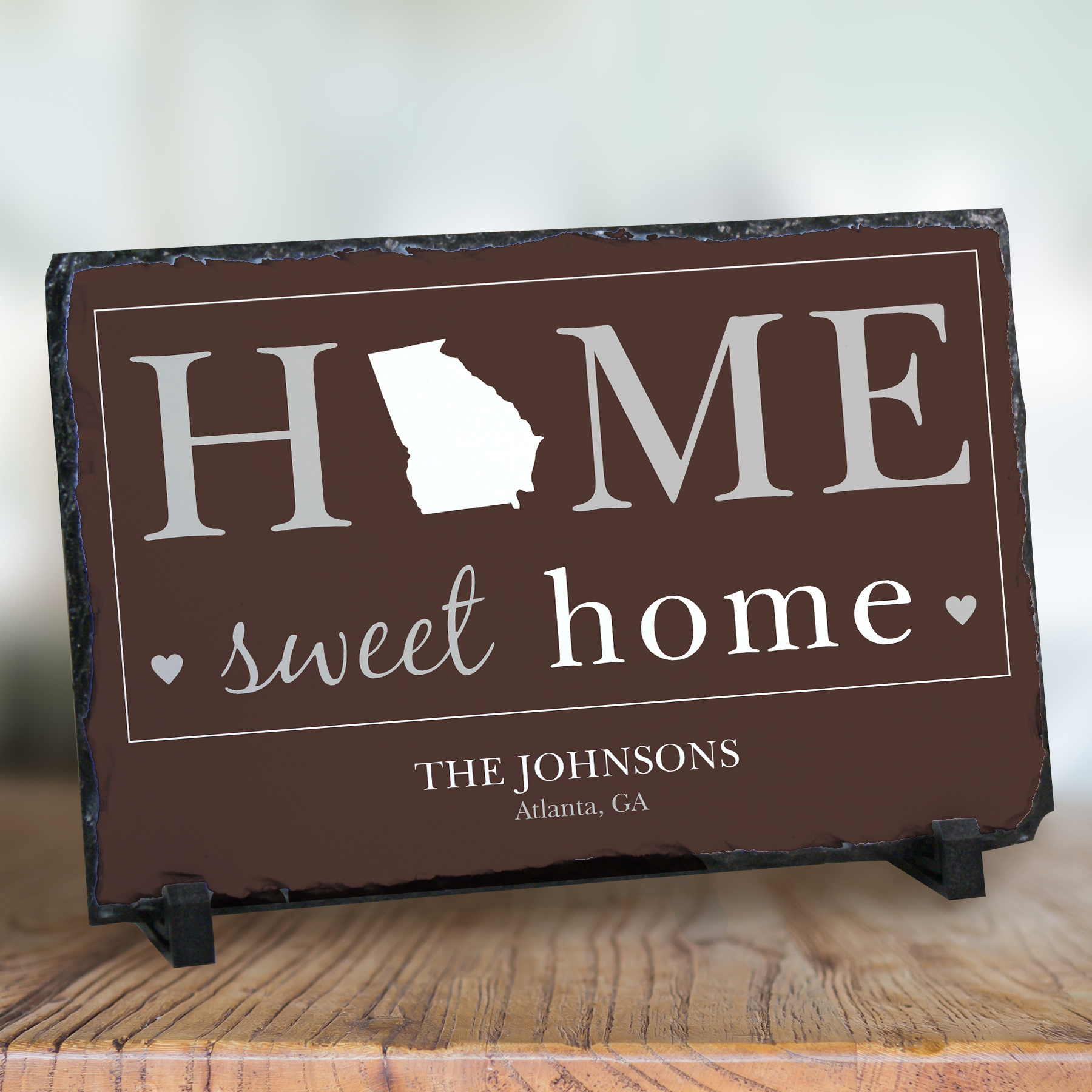 Personalized Home Sweet Home Welcome Stone Keepsake U747167