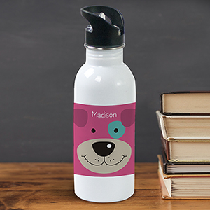 Personalized Puppy Water Bottle U780020
