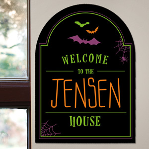 Halloween Wall Sign U794680