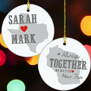 Personalized Relationship Ornament U822110