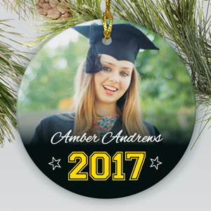 Graduation Photo Ornament | Personalized Graduation Gifts