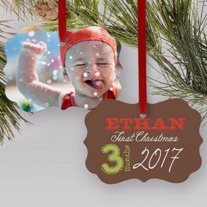 My First Christmas Photo Ornament | Baby's First Christmas Ornaments