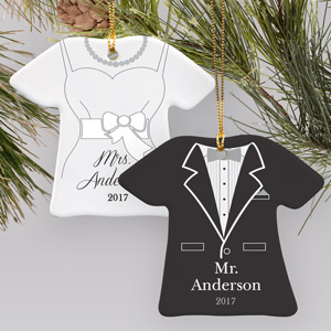 Personalized Wedding Ornament | Personalized Wedding Ornaments