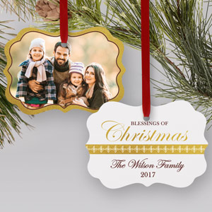 Blessings of Christmas ornament | Picture Ornaments
