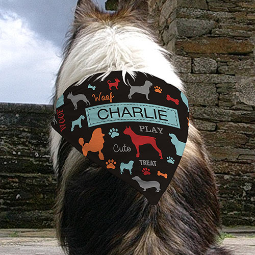 Personalized All Breeds Pet Bandana U991052