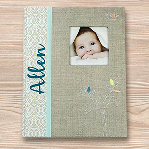 Personalized Tree Baby Memory Book | Personalized Baby Gift