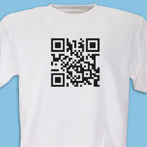 Personalized Barcode Scanner T-Shirt