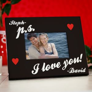 P.S. I Love You Personalized Picture Frame