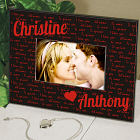 Personalized I Love You Printed Frame 449620
