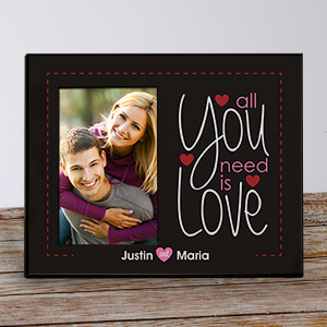 All You Need Is Love Printed Frame