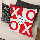 Personalized XOXO Throw Pillow