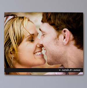 Personalized Couples Photo Wall Canvas 913871X