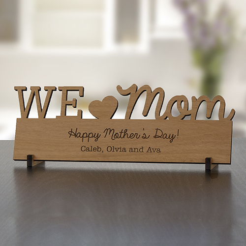 Engraved Mommy Wood Plaque | Personalized Keepsakes For Mom