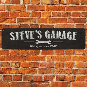 Personalized My Garage Street Sign | Personalized Gifts for Him