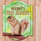 Personalized Nut House Wall Sign 638705