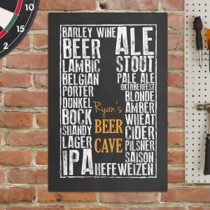 Personalized Beer Cave Wall Sign 676554