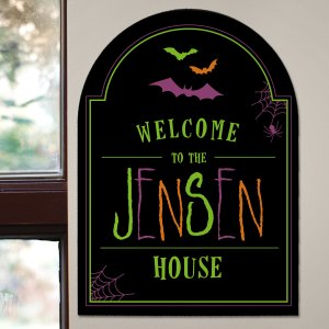 Halloween Wall Sign