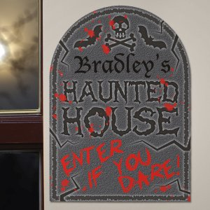 Haunted House Wall Sign