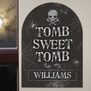 Halloween Tombstone Sign