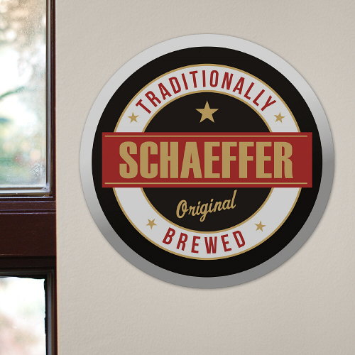 Personalized Beer Wall Sign | Personalized Father's Day Gifts
