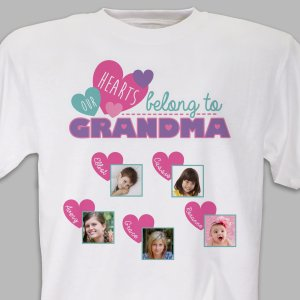 Personalized Family Photo T-Shirt
