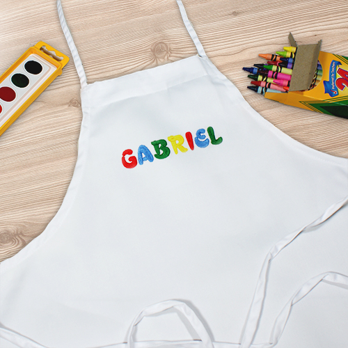 Personalized Child Art Apron