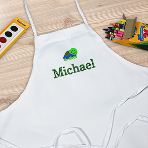 Embroidered Child Apron | Personalized Aprons