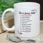 Top 10 Sexiest Men Personalized Coffee Mug
