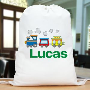 Personalized Train Sports Bag