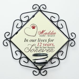 Personalized Pet Memorial Candle Holder