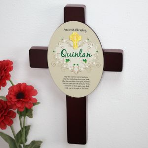 Irish Blessing Keepsake Wall Cross