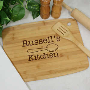 Engraved Kitchen Classic Cutting Board