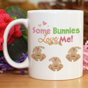 Easter Bunnies Coffee Mug