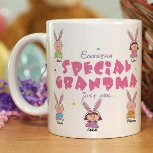 Eggstra Special Personalized Easter Mug