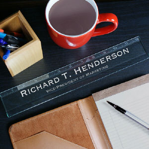 Personalized Executive Glass Ruler 85283311