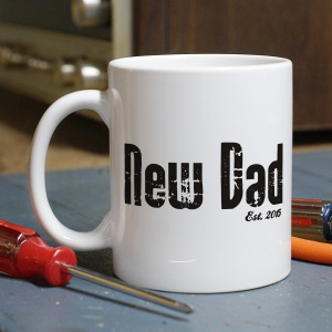 New Dad Personalized Coffee Mug