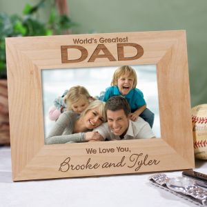 World's Greatest Wood Picture Frame