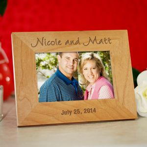 Personalized Wedding Frame | Personalized Wood Picture Frames
