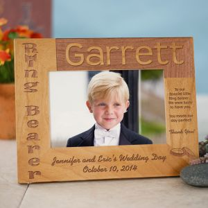 Ring Bearer Wood Picture Frame 930601