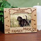 Personalized Family Mascot Wood Picture Frame
